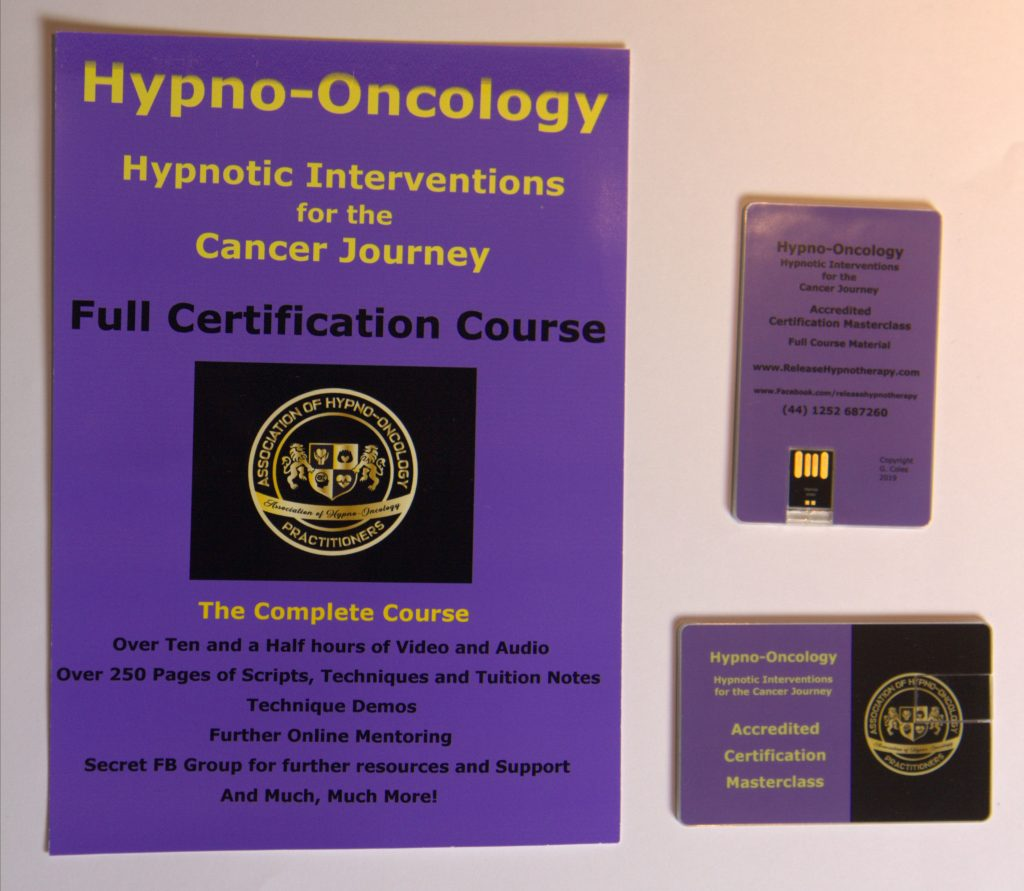 Hypno-Oncology Hypnotic Interventions for the Cancer Journey Full Certification Course
